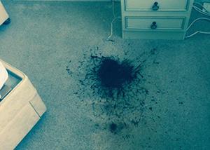 Removing carpet stains Buckinghamshire